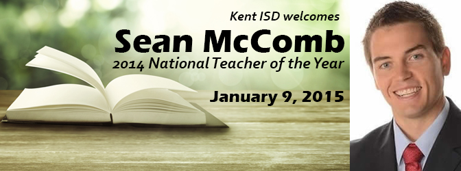 Kent ISD welcomes Sean McComb