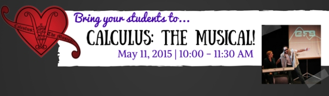 Calculus: The Musical Coming to Grand Rapids!