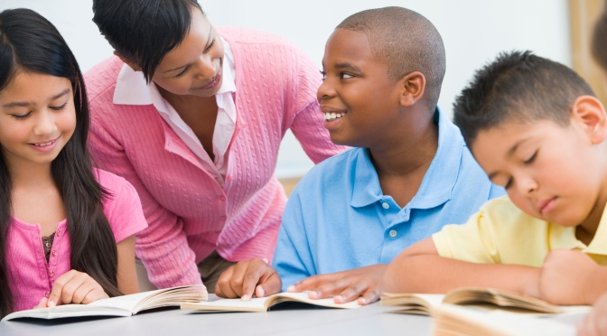 Leaders and Coaches Join to Improve Literacy